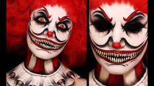 horror clown makeup tutorial saubhaya