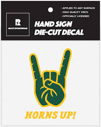 Amazon Com Ncaa College Hand Sign 5 X5 Vinyl Die Cut Car Decal Sticker Ndsu Bison Arts Crafts Sewing