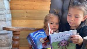 Startup publisher in Kahnawake launches three Indigenous-language  children's books   CTV News