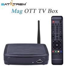 Satxtrem Box M968 IPTV Set Top Box OTT Internet TV Box H.265 1080P ...