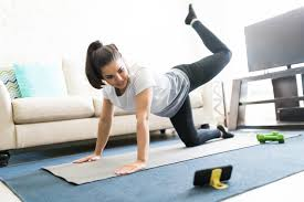 No gym? No problem. Online workouts will keep you moving at home ...