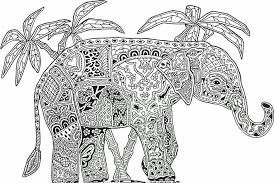Olifant Abstracte Kleurplaten Kleurplaten Adult Coloring Pages