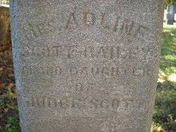 Adeline Scott Bailey (1814-1896) - Find A Grave Memorial