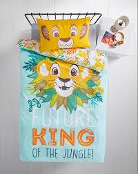 lion king simba single duvet cover
