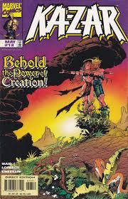 Ka Zar 13 Marvel Comics Vol 3 Marvel Comics Marvel Fantasy Comics