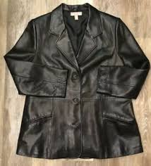 soft leather jacket size xl petite msrp