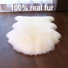 comfort authentic fluffy sheepskin car