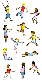 Image result for kids pe clipart