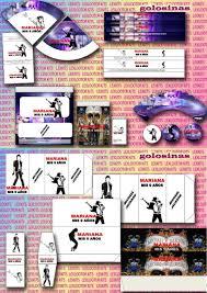 Kit Imprimible Michael Jackson Tarjetas 2 500 En Mercado Libre