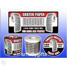cheese grater toilet roll grater