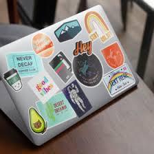 Custom Laptop Stickers Labels Avery
