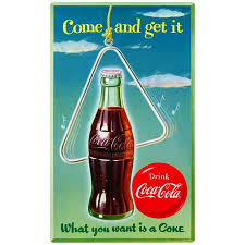 Coca Cola Come And Get It Wall Decal Etsy