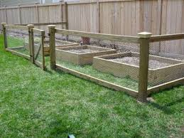 Designing Domesticity Keepin The Critters Out Fenced Vegetable Garden Diy Garden Fence Chicken Wire Fence