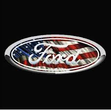 Ford Emblem American Flag Vinyl Decal Sticker Ford Truck Decals Ford Truck Stickers Country Boy Customs Store