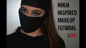 ninja inspired makeup tutorial you