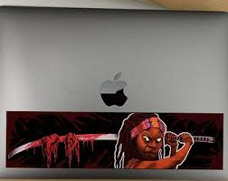 Michonne Decal Etsy