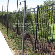 Tubular Steel Fence Buy Guangzhou Factory Cheap Wrought Iron Fence Panels For Sale On China Suppliers Mobile 159074223