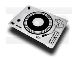 Sticker Decal Vinyl Dj Record Player Turn Table For Macbook Pro Air 11 13 15 Ebay