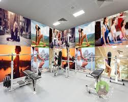 Free Shipping Gym Yoga Fitness Pavilion Sexy Beauty Photo Wall
