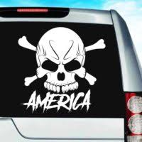 Skull Car Window Decals Stickers Graphics Wall Decals