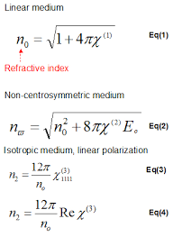 refractive index using gaussian 09