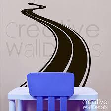 Vinyl Wall Decal Sticker Road Track Race Moto Car Boy Man Gift Kids Room R1826 Baby B019efjopi