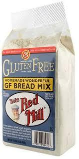 homemade wonderful gluten free bread mix