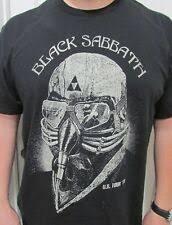 black sabbath shirt ebay