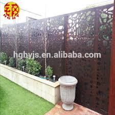 stainless steel decorative garden fence