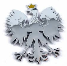 Polish Eagle With Gold Crown Poland Polski Chrome Car Emblem Decal Badge Ebay