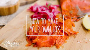 make your own homemade lox you