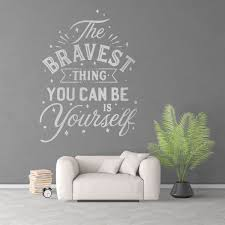Be Yourself Workplace Motivational Quote Vinyl Wall Sticker Motivational Wall Decal For Office