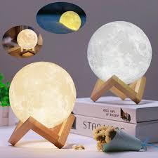 3d Night Light Rechargeable Led Bedside Table Lamp For Kids Bedroom 15cm For Sale Online Ebay