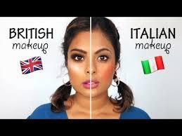 british makeup vs italian makeup you