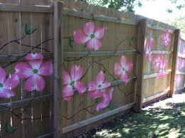 Fence Mural The Perks Of Being An Artist