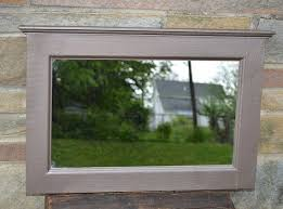 hammered metal paint finish mirror