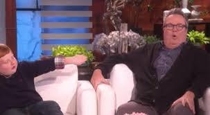 Eric Stonestreet and 'Apparently Kid' Noah Ritter Visit The Ellen Show    Empty Lighthouse Magazine