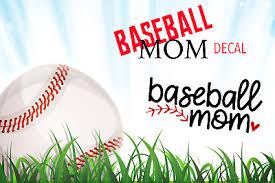 Baseball Mom Decal Custom Colorsfor Your Cup Tumbler Car Etc Ebay