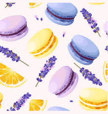 macaron wallpaper vector images