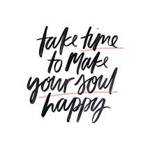 take time to make your soul happy the red fairy project