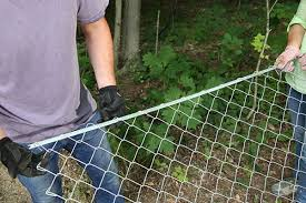 Install A Chain Link Fence Chain Link Fence Installation Chain Link Fence Fence Fabric