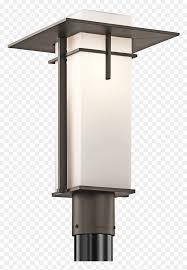 Outdoor Fence Post Light Png Download Outdoor Modern Post Lights Transparent Png Vhv