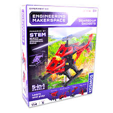 geared up gadgets stem experiment kit