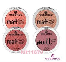 matt touch blush pressed powder face