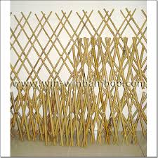 Bamboo Tensile Expandable Edging Fencing