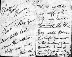 Ambrose's Note to Theresa re: Clara Smith Letters - hogtownempire