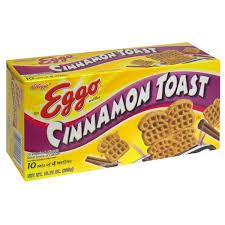 eggo waffles miniature cinnamon toast