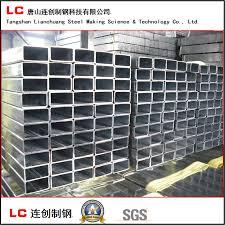 China Oiled Pregalvanized Rectangular Steel Pipe Fence Tube China Steel Pipe Steel Tube