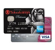 dbs takashimaya cards dbs singapore