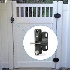 National Hardware Lokklatch 10 24 In Black Gate Lock In The Gate Hardware Department At Lowes Com